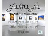 Online Art Gallery - Artist Exhibition Space