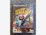 Destroy All Humans! Original 2005 PS2 Game, mint