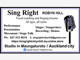 Sing Right Robyn Hill