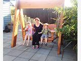 Macrocarpa Swing Seat