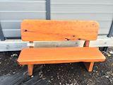 1.8m Macrocarpa Park Bench