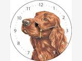 Irish Setter - Clock