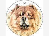 Chow Chow Clock